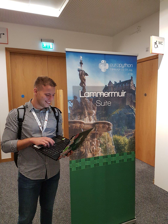Martin Angelov at EuroPython 2018